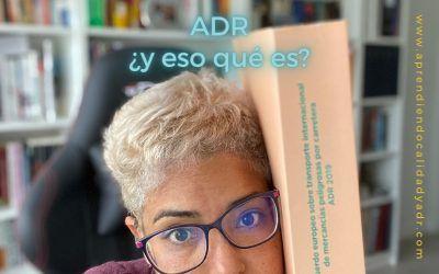 ADR: ¿y eso qué es?