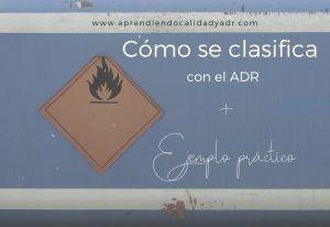 Cómo clasificar con el ADR + Ejemplo práctico