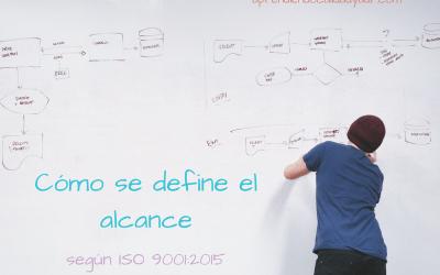 Cómo se define el alcance según ISO 9001:2015