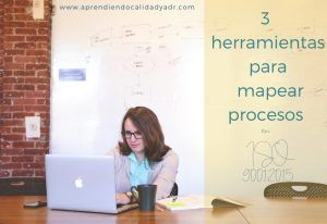 3 herramientas para mapear procesos en ISO 9001:2015