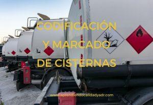 Codificación y marcado de cisternas