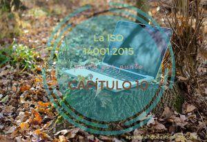 ISO 14001:2015 capítulo 10