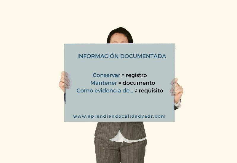 información documentada