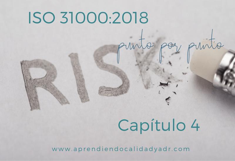 ISO 31000:2018 Capítulo 4