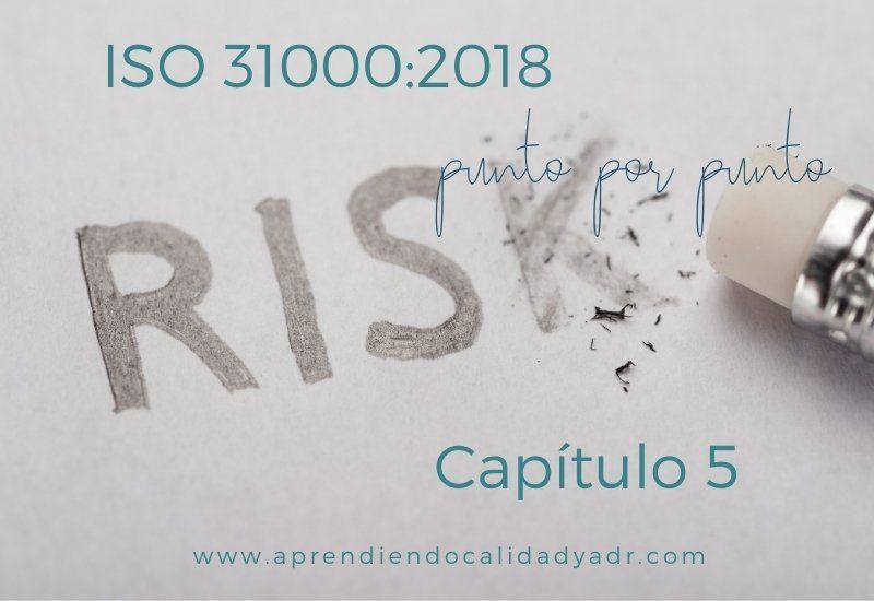 ISO 31000 capítulo 5